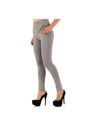 Best Fashion Damen Hosen der besten Mode - Grau