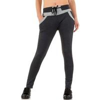 Pantalons pour dames de la meilleure mode - Gris foncé