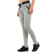 Dames broek van Best Fashion - licht grijs