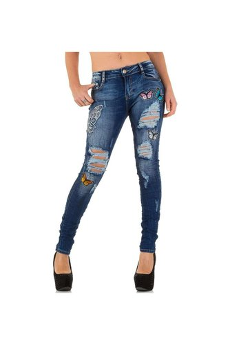 ORIGINAL Dames Jeans van Original - Donker Blauw