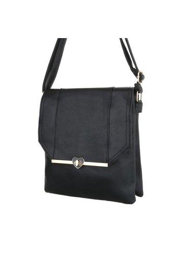 Neckermann Dames schoudertas - zwart