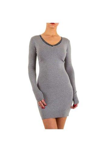 MOEWY Damen Kleid von Moewy Gr. one size - grey