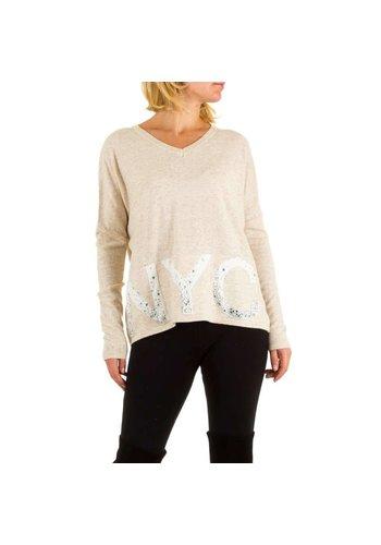 ENZORIA Frauen Pullover von Enzoria eine Größe - Creme