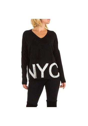 ENZORIA Damen Pullover von Enzoria eine Größe - schwarz