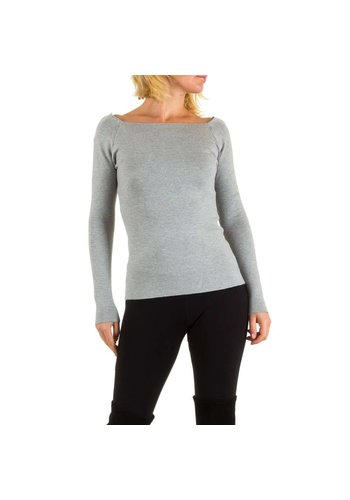MC LORENE Dames pullover van MC Lorene Gr. one size - grijs