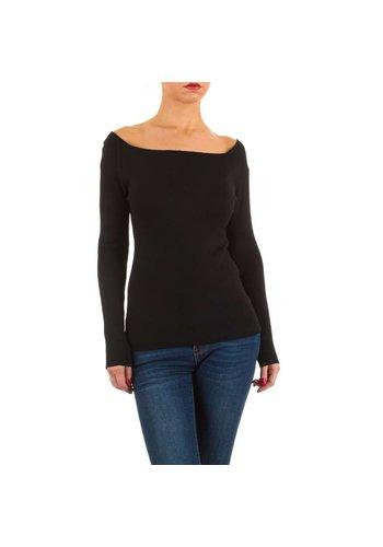 MC LORENE Dames pullover van MC Lorene Gr. one size - zwart
