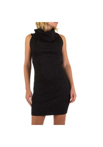 MC LORENE Dames jurk van Mc Lorene Gr. one size - zwart