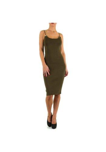 MOEWY Damen Kleid von Moewy Gr. one size - green