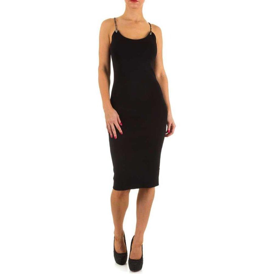 Damen Kleid von Moewy Gr. one size - black