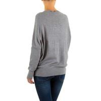 Frauen Pullover von Moewy Gr. eine Größe - grau