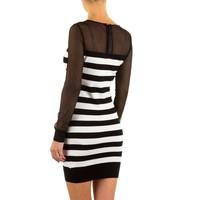 Damen Kleid von Enzoria Gr. one size - black
