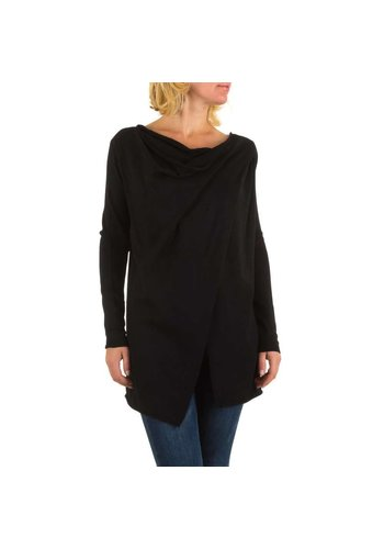 MOEWY Dames Tuniek Vest  van Moewy  one size - Zwart