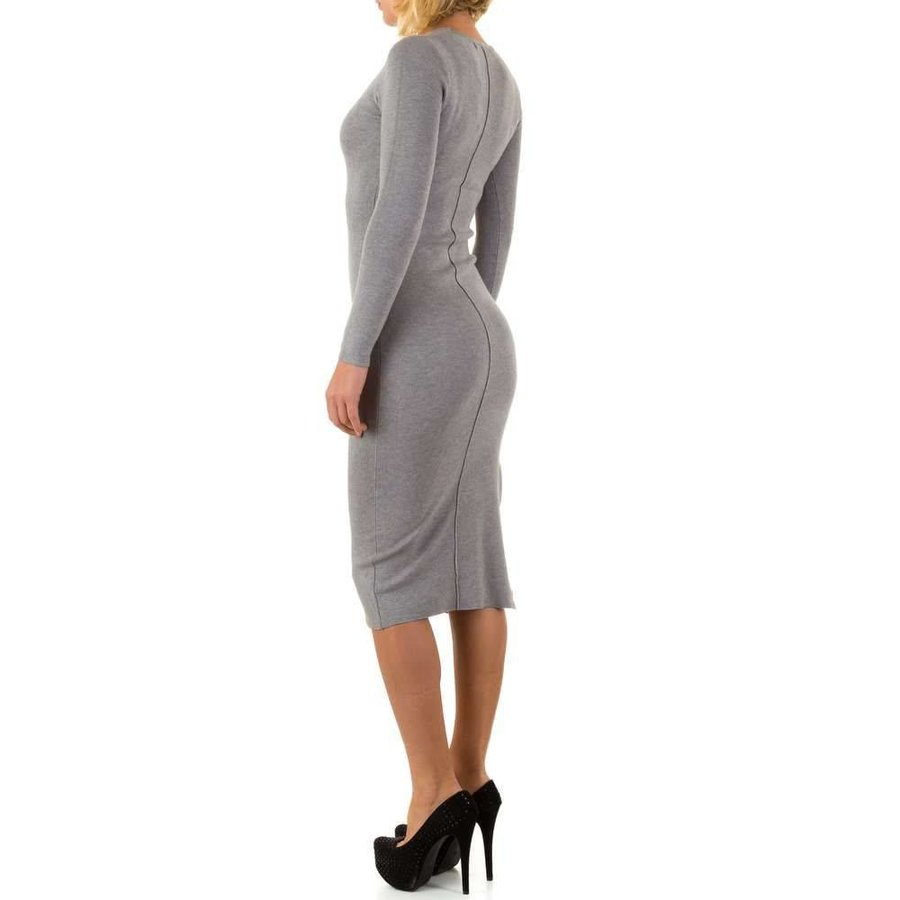 Damen Kleid von Mc Lorene Gr. one size - grey