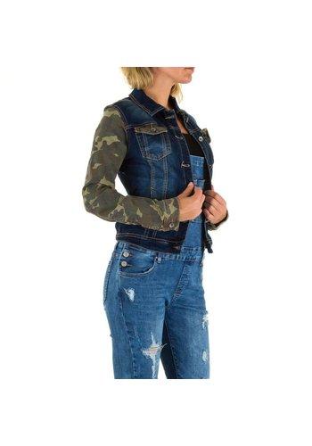 Mozzaar Jeans jasje van Mozzaar - blauw