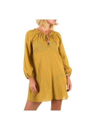 JCL Damen Kleid von JCL - senf