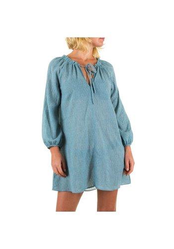 JCL Damen Kleid von JCL - blue