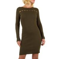 Damen Kleid von JCL- khaki