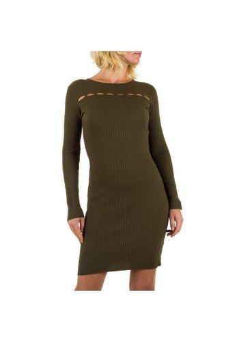 JCL Damen Kleid von JCL- khaki
