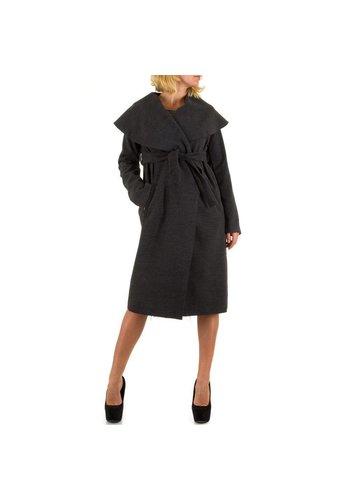 JCL Damen Mantel von Jcl - grey