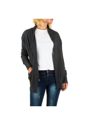 BY JULIE Damen Strickjacke von By Julie - DK.grey