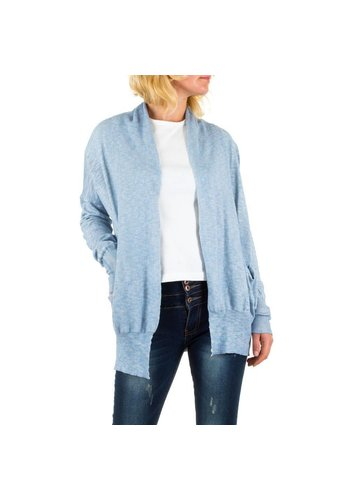 BY JULIE Damen Strickjacke von By Julie - blue