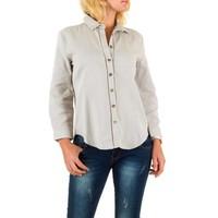 Damen Bluse von By Julie - grey