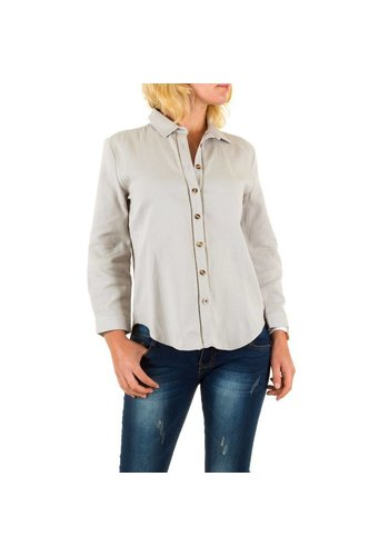 BY JULIE Damen Bluse von By Julie - grey