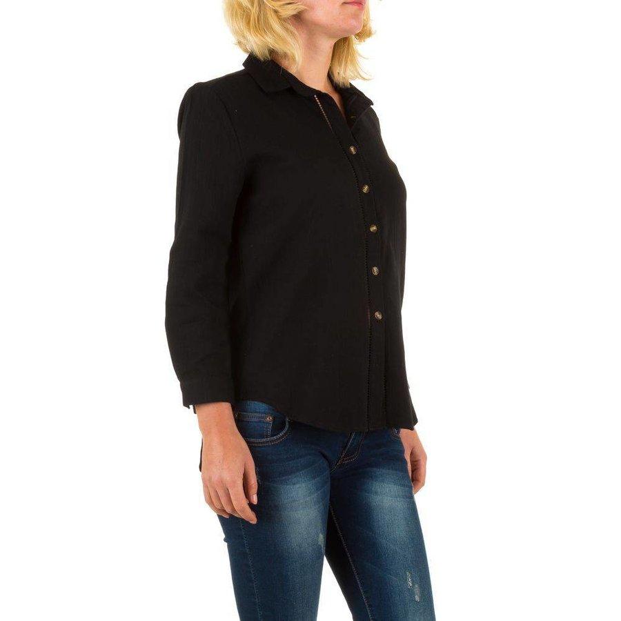 Damen Bluse von By Julie - black