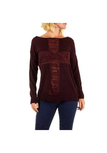 Panacher Damen Pullover von Panacher one size - bordeaux