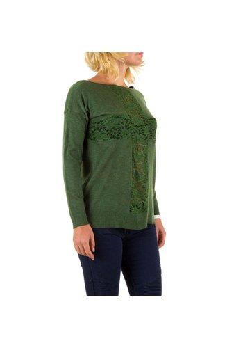 Panacher Frauen Pullover von Panacher eine Größe - grün