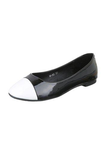 Neckermann Dames Ballerinas - zwart