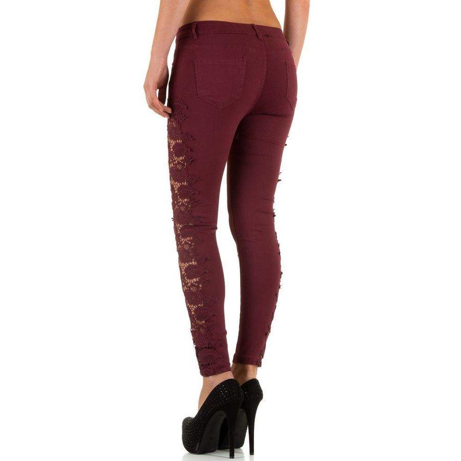 Damen Jeans von Laulia  wine
