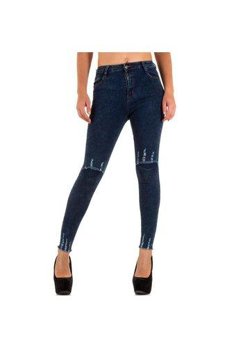 Laulia Dames jeans van Laulia blauw