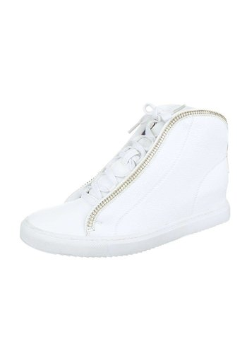 GIOIA Dames Sneakers - wit