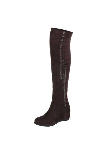 Neckermann Damen Overknee Stiefel - brown