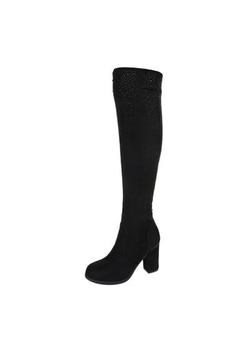 Neckermann Damen Overknee Stiefel - black