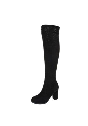 Neckermann Dames Overknee Laarzen Zwart