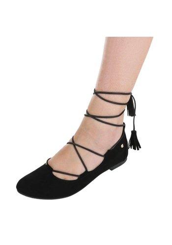 Neckermann Damen+Ballerinas+-+black