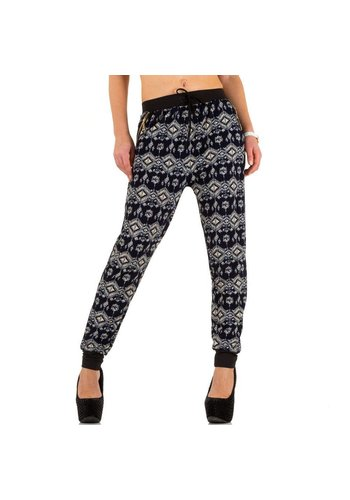 Best Fashion Dames broek van Best Fashion Gr. one size - blauw
