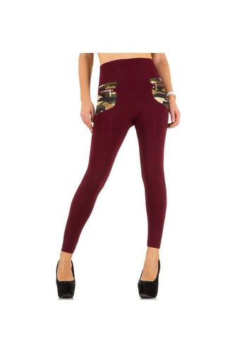 Best Fashion Damen Leggings von Best Fashion one size - red