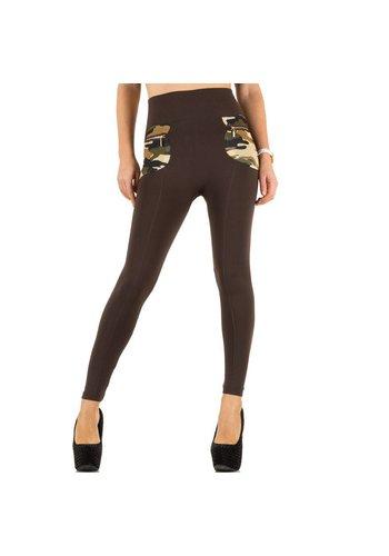 Best Fashion Damen Leggings von Best Fashion  one size - brown