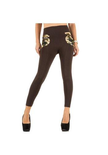 Best Fashion Dames legging one size van Best Fashion - bruin