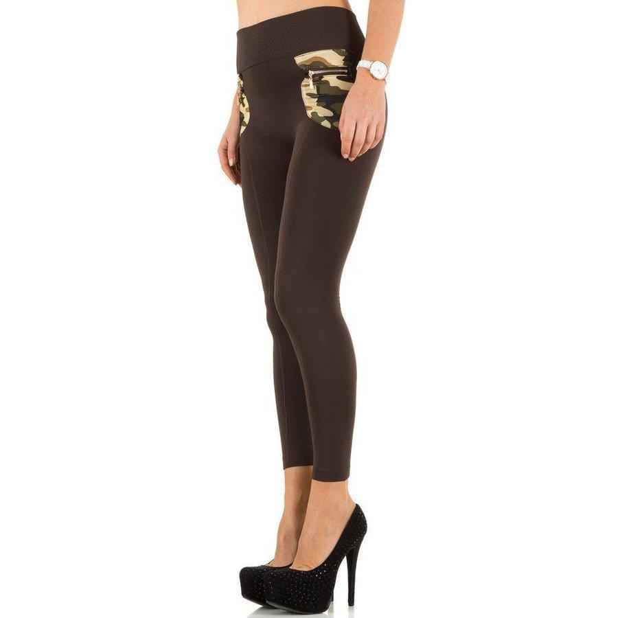 Spandex pour femme de Best Fashion taille unique - marron