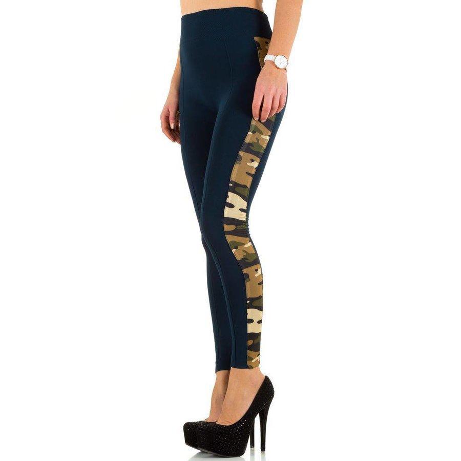 Damen Leggings von Best Fashion one size - blue