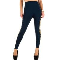 Leggings pour femme de Best Fashion taille unique - bleu