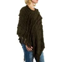 Poncho pour femme de Best Fashion taille unique - vert