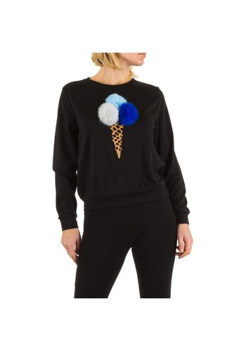 Neckermann Damen Pullover - schwarz