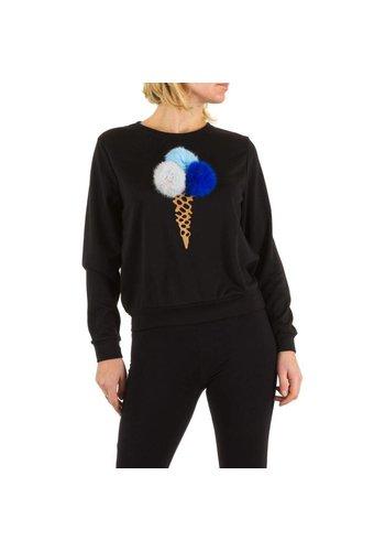 Neckermann Dames Sweater - zwart