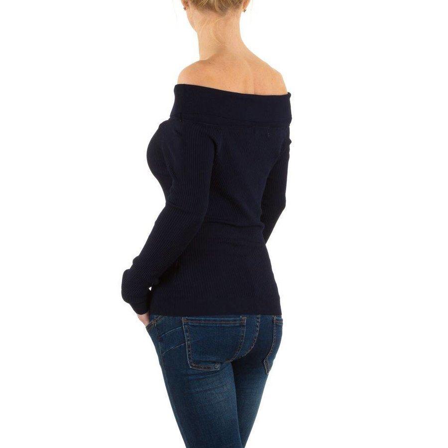 Damen Pullover Gr. one size - DK.blue