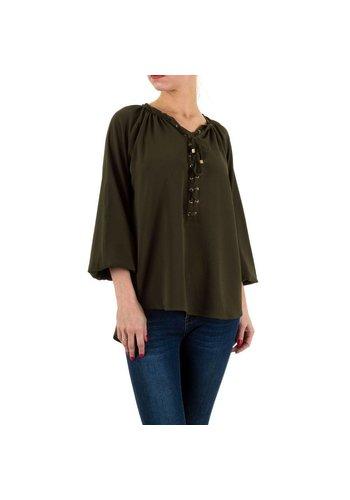 Neckermann Dames blouse - khaki